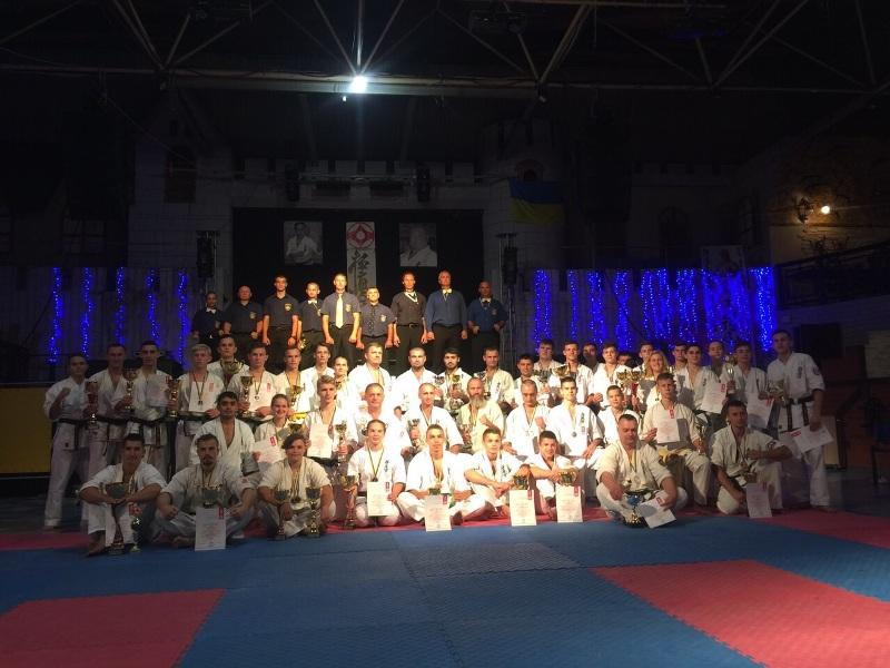Мукачівці вибороли 2 золоті медалі на Чемпіонаті України з Кіокушинкайкан Карате (ФОТО)