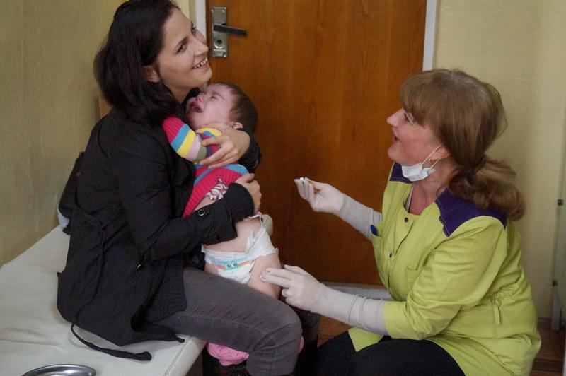 У Мукачеві вже вакцинують дітей від кору