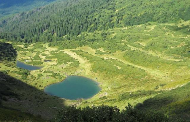 Родзинка Закарпаття: високогірне озеро Ворожеська на Рахівщині(ФОТО)