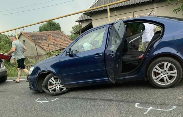 ДТП на Іршавщині: зіткнулися 2 автомобілі (ФОТОФАКТ)