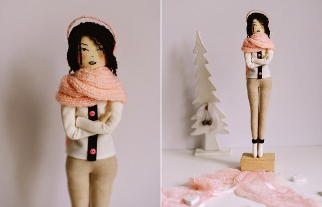 Добрі і ніжні ляльки. Закарпатка шиє оригінальні ляльки