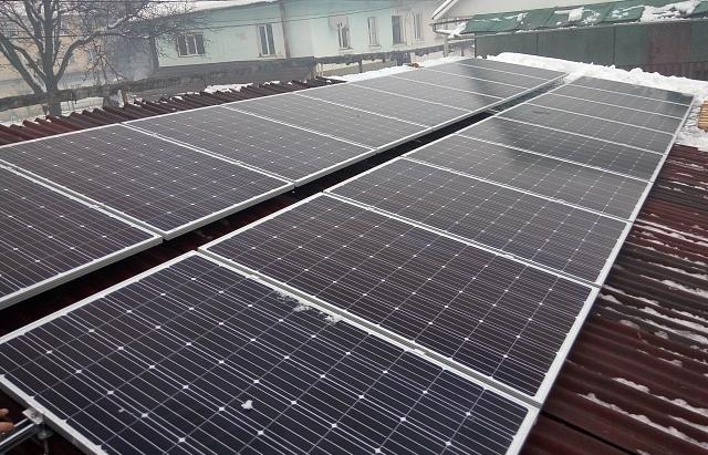 На Закарпатті збудували 10-кіловатну сонячну електростанцію