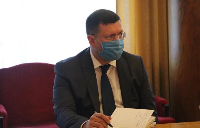 Петров представив свого нового першого заступника - теж із СБУ