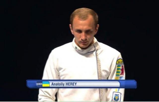 Гордість краю! Анатолій Герей виборов бронзу на етапі кубку Світу з фехтування