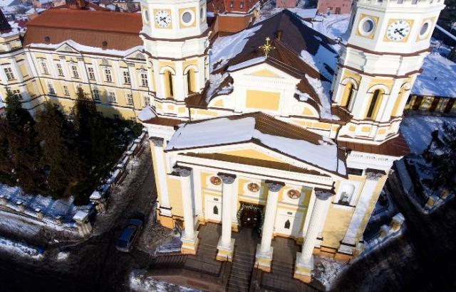 Кафедральний Собор в Ужгороді з висоти пташиного польоту: неймовірні фото