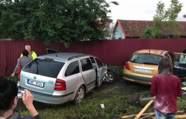 ДТП у Мукачеві: зіткнулися Skoda та Peugeot