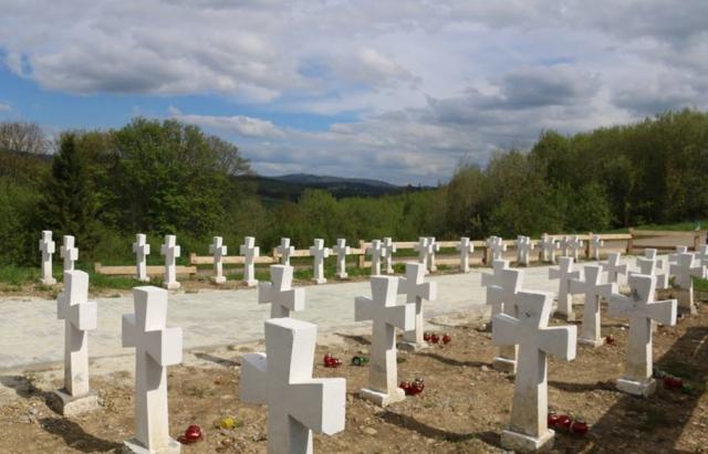На Верецькому перевалі з'явилось Меморіальне кладовище січовиків Карпатської України