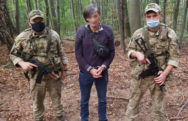 У лісі на Закарпатті затримали нелегала з Грузії (ФОТО)