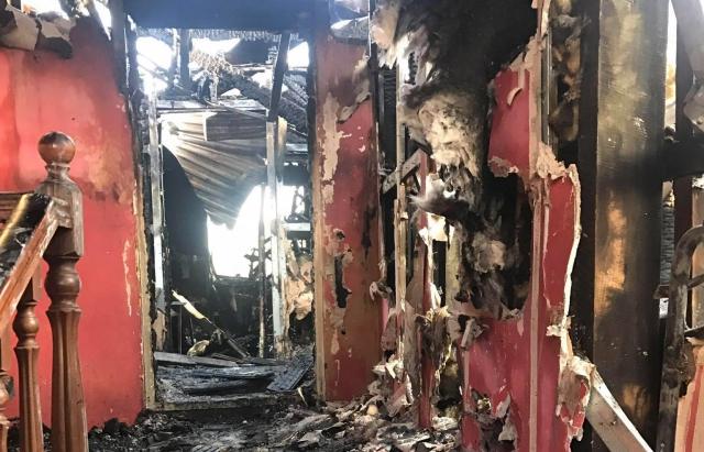 З'явилися фото наслідків нищівної пожежі в монастирі на Іршавщині (ФОТО)