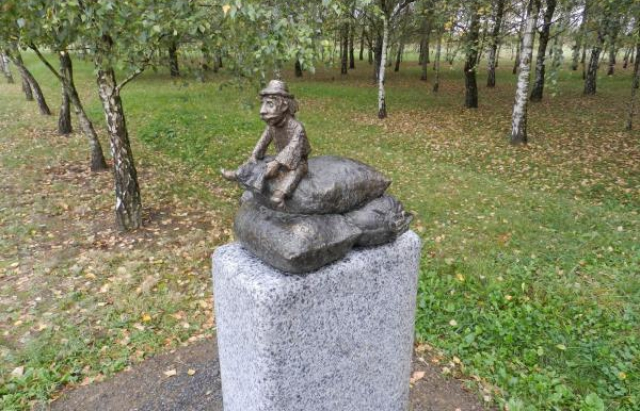 У Берегові з'явилася перша міні-скульптурка (ФОТО)