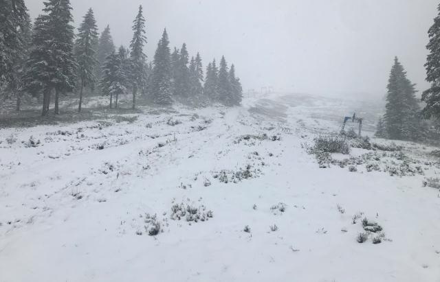 7 сантиметрів за ніч: Лижний курорт у Карпатах засипає снігом (ФОТО, ВІДЕО)