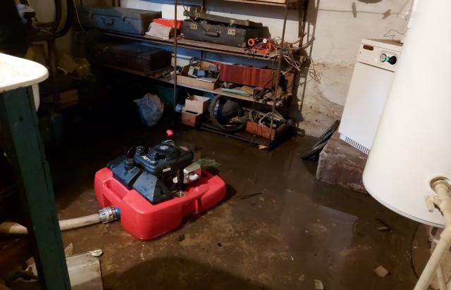 Через погодні умови населені пункти Закарпаття опинилися у воді (ФОТО)