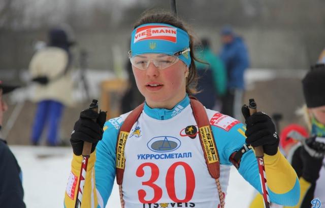 Закарпатка Анастасія Меркушина стала бронзовою призеркою чемпіонату світу з біатлону