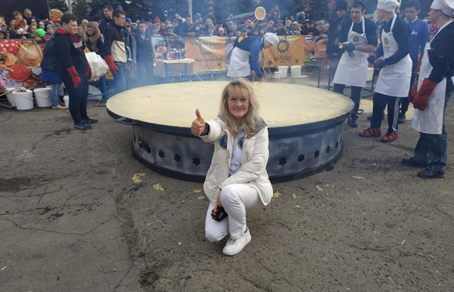 На рекорд: в Ужгороді спечуть найбільший млинець-палачінту в Україні