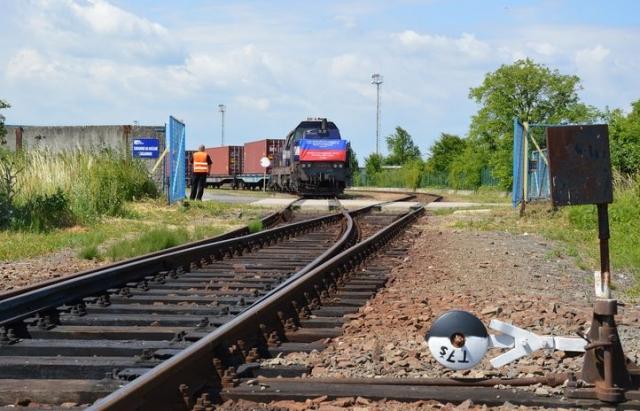 До Будапешта через Словаччину і Закарпаття прибув перший контейнерний потяг з Китаю (ФОТО)
