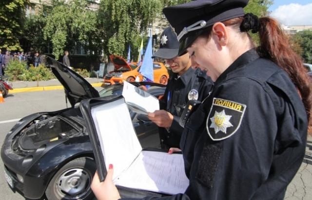 Поліції хочуть надати можливість контролювати авто на іноземній реєстрації