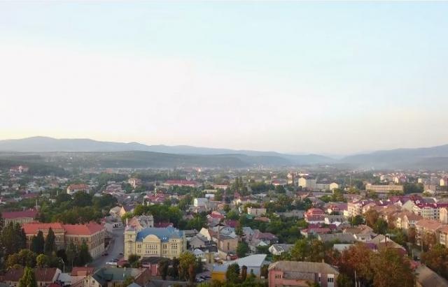Відео дня: Краса літнього Ужгорода в 4К