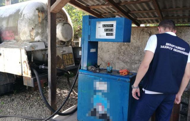 На Закарпатті викрили підпільні АЗС, які торгували скрапленим газом