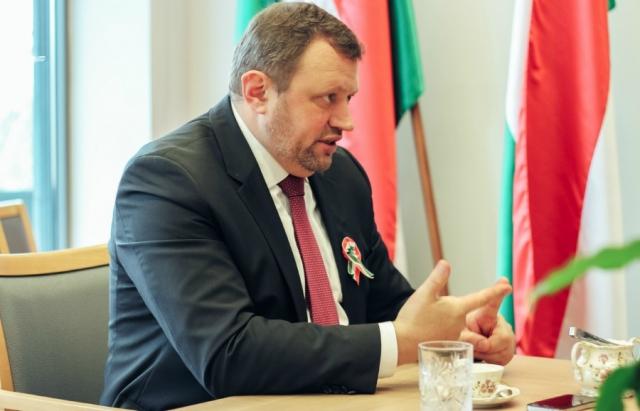 Угорщина не підтримуватиме ініціативи України в ЄС через освітній закон - посол Кешкень