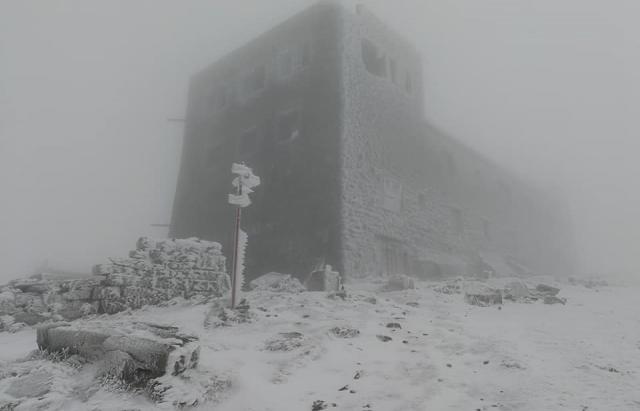 Піп Іван Чорногірський: на високогір'ї Карпат — справжня зима
