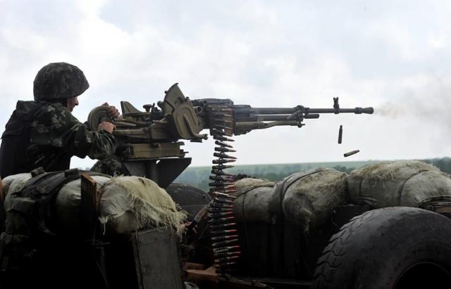 Бійці 128-ї бригади у зоні АТО потерпають від обстрілів