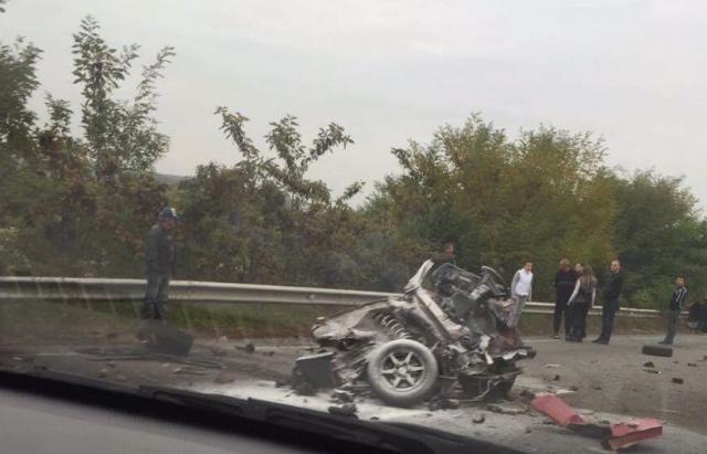УДТП наЗакарпатті авто розірвало навпіл