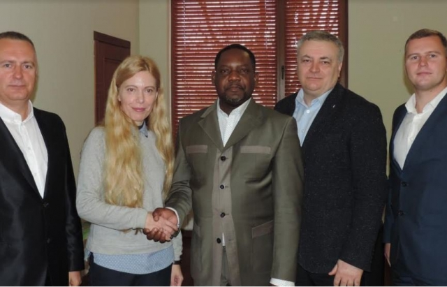 На Закарпаття приїхав прем'єр Центральноафриканської Республіки