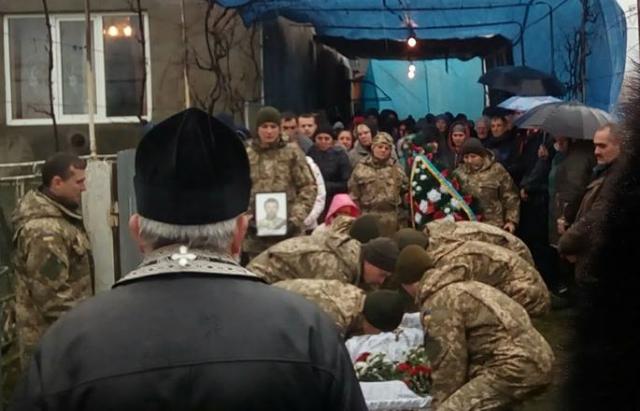 Закарпаття попрощалось із загиблим в АТО Михайлом Кушніром