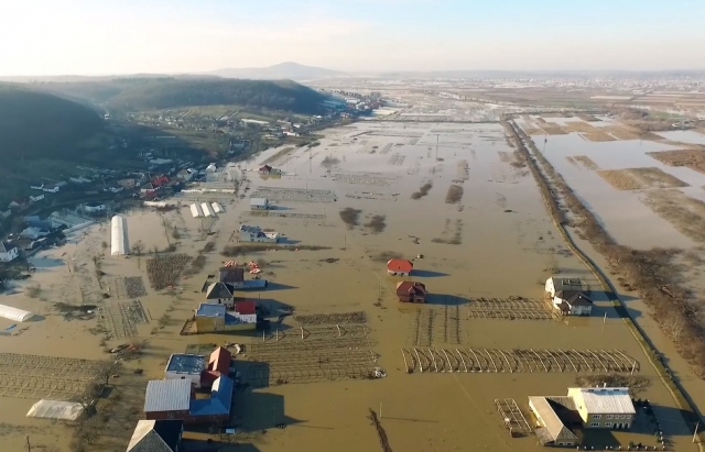 Повінь на Закарпатті: рівень води досяг історичного максимуму