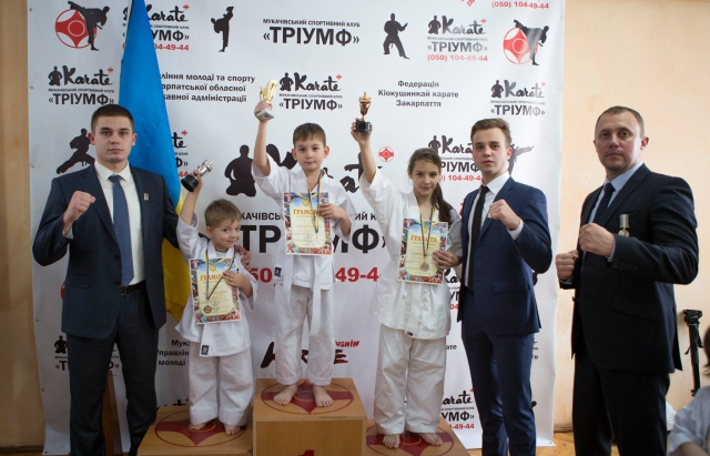 Перший досвід: В Мукачеві влаштували Чемпіонат з кіокушинкай карате для самих маленьких (ФОТО)