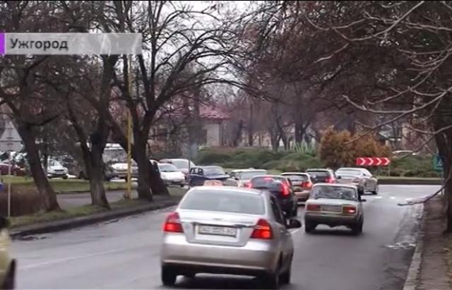 Поліція розповіла про найаварійніші місця в Ужгороді