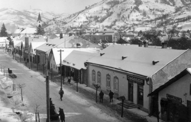 Історичні кадри: казковий зимовий Рахів 1939 року (ФОТО)
