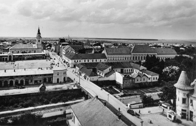 Історичні кадри: як виглядали центральні вулиці Берегова у 1939 році (ФОТО)