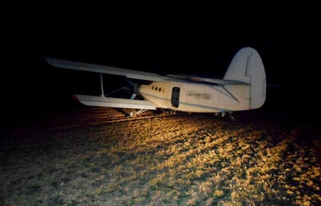 Літак з нелегалами, який прибув з України, затримали неподалік прикордонного міста Ніредьгаза (ФОТО, ВІДЕО)