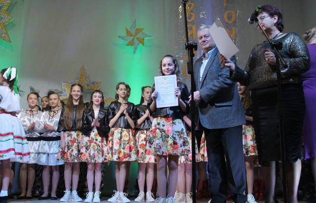 """У Мукачеві оголосили переможців вокального фестивалю """"Різдвяна зіронька 2018"""""""