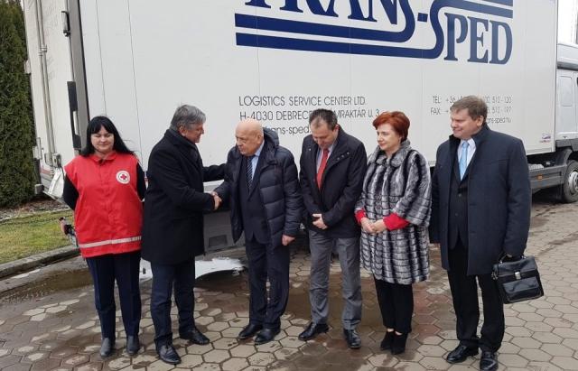 Обладнання для закарпатських амбулаторій на суму 120 тисяч євро привезли з Угорщини