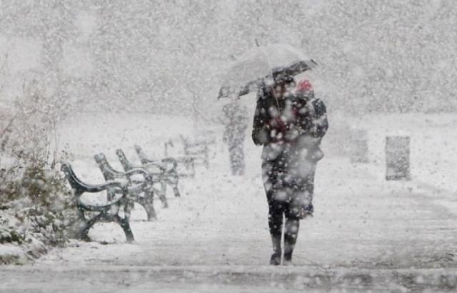 На Закарпаття йде холодний циклон