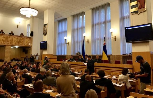 29 березня Закарпатська облрада збереться на 10-ту сесію