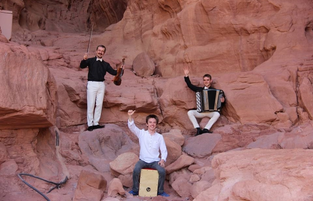 Мукачівські музиканти зіграли «Хава наґіла» на Ізраїльський кручах (ВІДЕО)