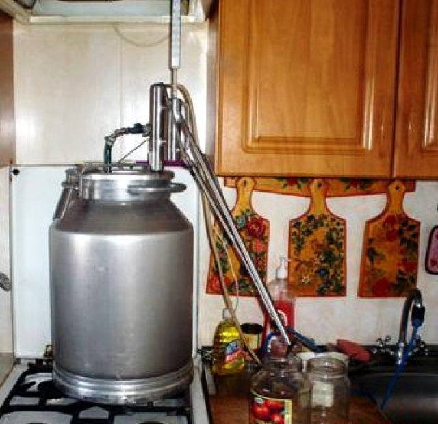 Как сделать самогонный аппарат в домашних условиях - АлкоФан 29
