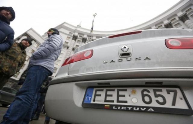 Митниця практично перекрила в'їзд литовських автомобілів в Україну