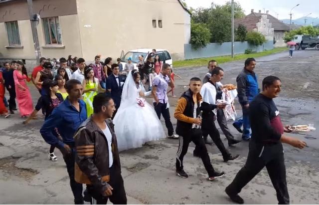 Відео дня: Ромське весілля у Великому Березному