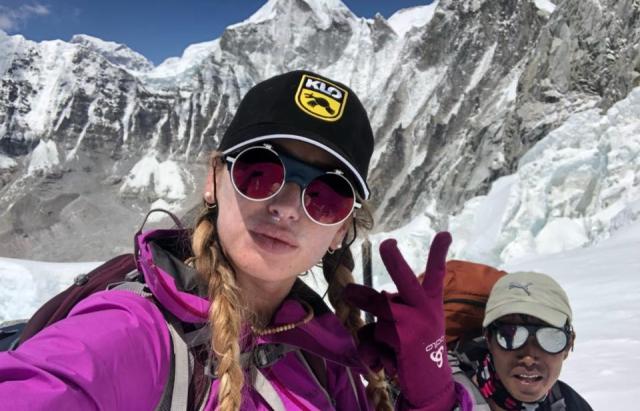 Не вистачило 200 м до вершини: Ірина Галай розповіла про свій похід на Лхоцзе (ВІДЕО)