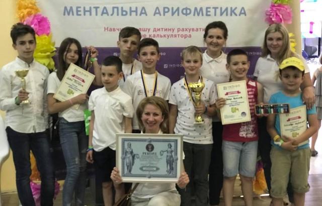 Мукачівці виграли олімпіаду з ментальної арифметики і поїдуть у Дубаї