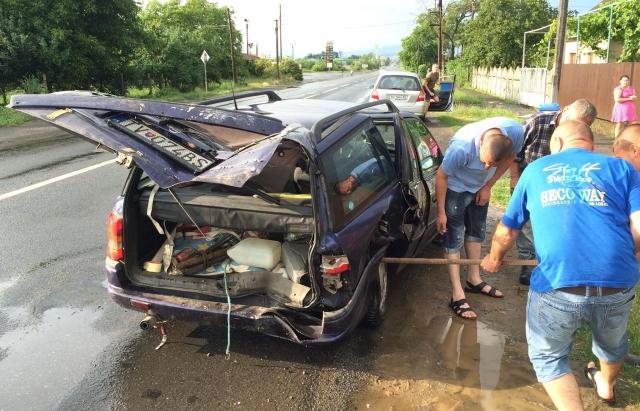 ДТП в селі Холмок: у одній з машин знаходилась вагітна жінка