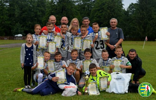 Юні футболісти з Мукачева стали чемпіонами Закарпаття