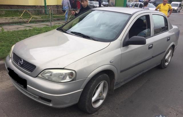 У Тячеві п'яний водій Opel Astra став винуватцем ДТП (ФОТО)