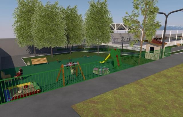 У Києві затвердили проект парку на Валленберга в Мукачеві (ПРОЕКТ)