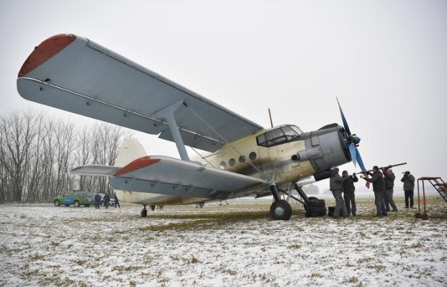Український літак, який привіз в Угорщину нелегалів, продали на аукціоні (ФОТО)