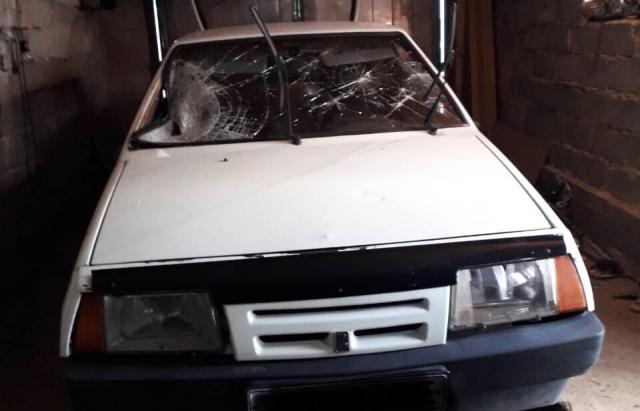 22-річний закарпатець на ВАЗі збив чоловіка та втік, а машину сховав (ФОТО)